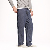 CLASSIC FLANNEL PAJAMA PANT IN NAVY CHECK