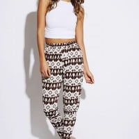 Brown/Mocha Harem Pants