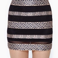 Nasty Gal All Wrapped Up Skirt
