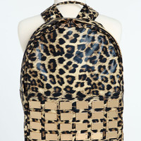 LEOPARD PLATE BACKPACK