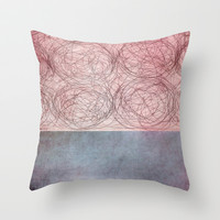 rosado Throw Pillow by Iris Lehnhardt
