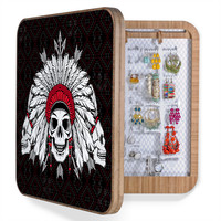 Chobopop Geometric Indian Skull BlingBox