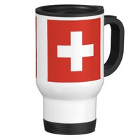 Switzerland flag mug