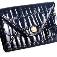 Envelope Card Case, Black