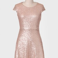 Morning Light Sequined Dress