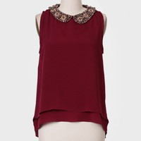 Julianne Embellished Tank