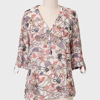 Finer Things Printed Blouse