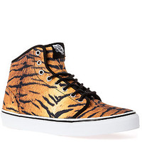 The 106 Hi Sneaker in Tiger Print
