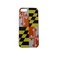 Maryland Flag iPhone 5 Case | Steez Teez