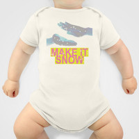 make it snow Onesuit by Miranda J. Friedman