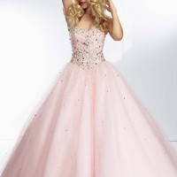 Paparazzi by Mori Lee 95107 Enchanting Ball Gown