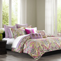 echo design Vineyard Paisley Duvet Cover Collection