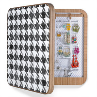 Social Proper Houndstooth BW BlingBox