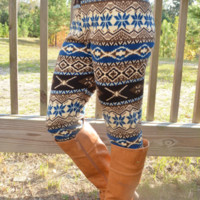 Sleigh Ride Leggings: Multi