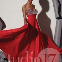 Studio 17 12461 Chiffon Prom Dress