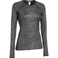 Under Armour Women's Cozy Crewneck Shimmer Long Sleeve Shirt