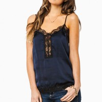 LORENZA CAMISOLE IN NAVY
