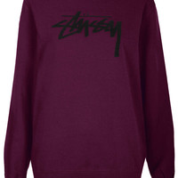 Logo Sweat By Stussy