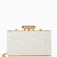 Nasty Gal Ivory Coast Clutch