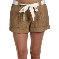 Anne Klein Short w/ Pleats