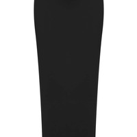 Neoprene Longline Pencil Skirt By Bo...
