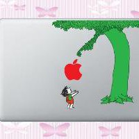 Giving Tree for MacBook Decal 13 15 17 by WallArtForLess on Etsy