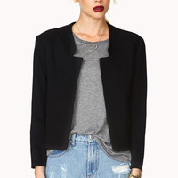 Sophisticated Cropped Blazer