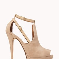 Refined Peep-Toe Platforms
