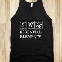 Skreened Swag Periodic Table Tank Top Black