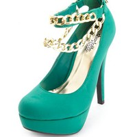ANKLE CHAIN PLATFORM PUMP