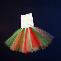 SALE Ready to ship- tutu dress, Christmas baby tutu, Christmas tutu dress, 1st Christmas outfit, 1st Christmas dress, baby Christmas dress