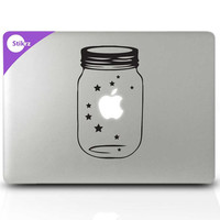 Laptop Stickers, Constellations Macbook Stickers, wall decals for macbook pro - Lucky Stars- Decal 189