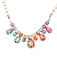 TOM BINNS paint splatter necklace
