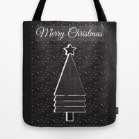 Merry Christmas Tote Bag by famenxt