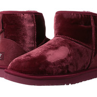 UGG Classic Mini Velvet Black Velvet - Zappos.com Free Shipping BOTH Ways