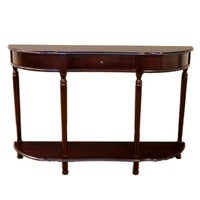 Frenchi Home Furnishing Console Sofa Table with Drawer-MH159 at The Home Depot