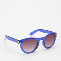 Wind In My Wings Round Sunglasses  - Urban Outfitters