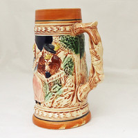 Vintage Mid Century Beer Stein Mug Made in Japan, UK Seller
