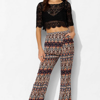 Staring At Stars Wrap Wide-Leg Pant - Urban Outfitters