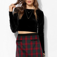 Cooperative Tartan Plaid Mini Skirt - Urban Outfitters