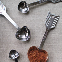 heart measuring spoons – Mignon Kitchen Co.