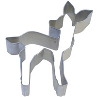 fawn cookie cutter, deer, reindeer