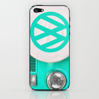 VW Camper Van iPhone & iPod Skin by Alice Gosling