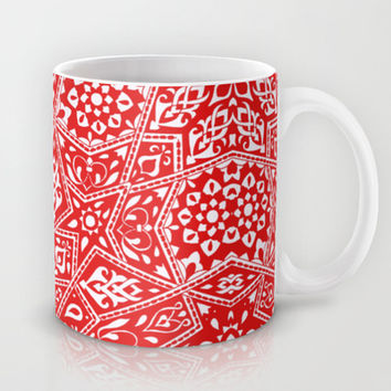Amirah Red Mug by Aimee St Hill