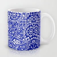 Amirah Blue Mug by Aimee St Hill