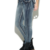 Back Cross Pocket Skinny Jean | Wet Seal