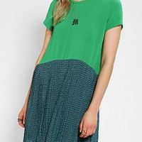 I.Madeline Pleated Babydoll Dress - Urban Outfitters