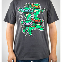 Teenage Mutant Ninja Turtles 'Animigo Group' Tee