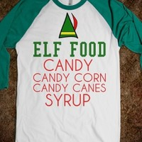 Elf Food Elf Movie Christmas Shirt