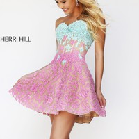 Sherri Hill 11101 Lace Party Dress